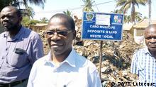 Mosambik Kampagne gegen Müll in Nampula