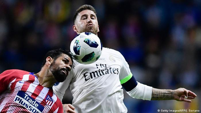 UEFA Super Cup 2018 | Real Madrid v Atletico Madrid (0:1) (Getty Images/AFP/J. Soriano)