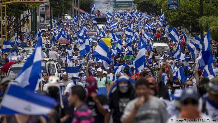 Nicaragua Managua Proteste