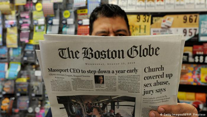 USA Tageszeitung The Boston Globe (Getty Images/AFP/P. Prezioso)