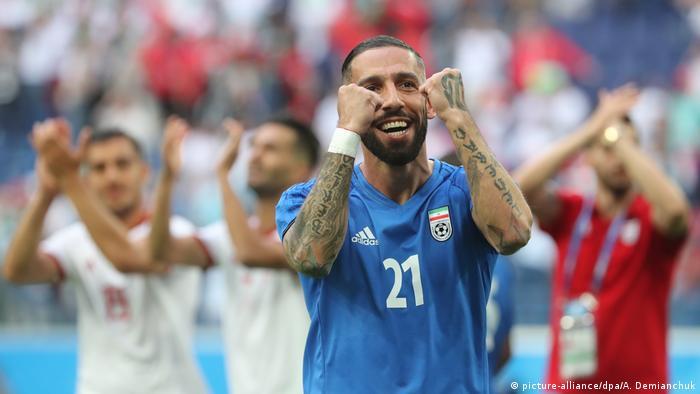 Irans Tattoo Taboo Hounds Footballer Ashkan Dejagah
