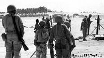 Israelische Truppen auf dem Sinai während des Sechstage-Krieges (Foto: KPA)