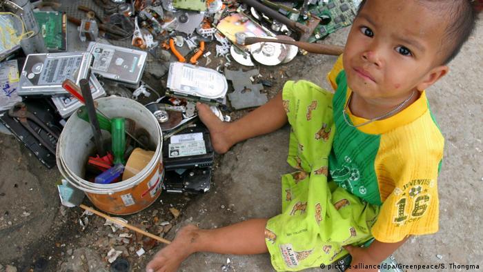 Rocznie na naszym globie produkuje się ponad 50 milionów ton śmieci elektronicznych