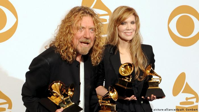 Robert Plant and Alison Krauss at the 51st Grammys (picture-alliance/dpa/A. Gombert)