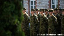 Bilder zum Thema Cyber soldiers in Estland. Auf einem Bild ist der Interviewpartner der DW - Oberst Andres Hairk zu sehen. (C) - Estonian Defence Forces