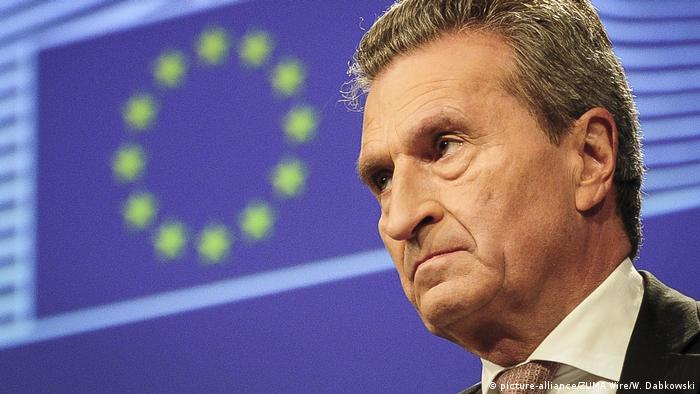 Günther Oettinger (picture-alliance/ZUMA Wire/W. Dabkowski)
