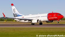Norwegian Air Boeing (picture-alliance/M.Mainka)