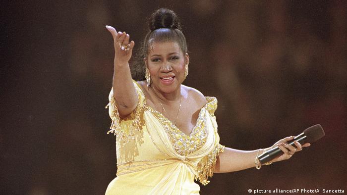 Aretha Franklin (picture alliance/AP Photo/A. Sancetta)