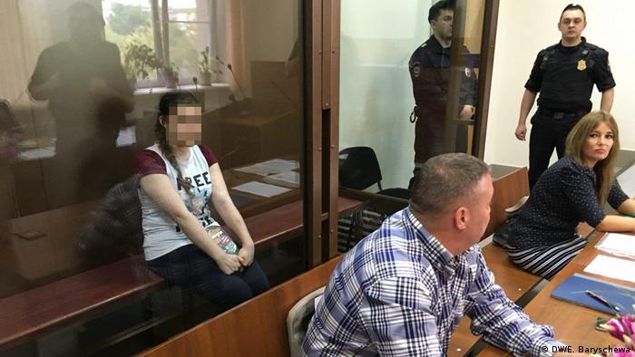 Анна Павликова в московском суде