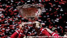 Davis Cup Finale - Frankreich v Schweiz