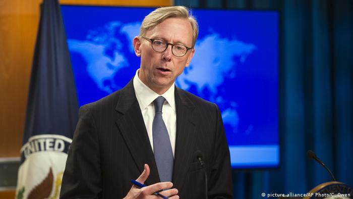 USA Aktionsgruppe für Iran Brian Hook (picture-alliance/AP Photo/C. Owen)