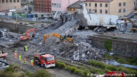 Обвал мосту в Генуї: знайдено тіла всіх зниклих безвісти, офіційно 43 загиблих