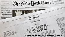 USA Zeitung The New York Times