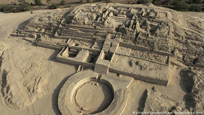 Peru Archäologie Caral Stadt (picture-alliance/dpa/Caral Archaeological Area)