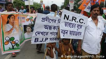Indien National Register of Citizens | Protest in Siliguri