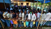 Indien National Register of Citizens   Assam, Einsicht in Entwurf