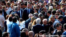 Spanien l Barcelona ein Jahr nach dem Terroranschlag | König Felipe IV.
