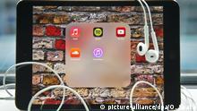 Musik Streaming Symbolbild