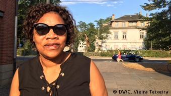 Deutschland Migration l Die Mosambikanerin Olga Carlos lebt in Dresden