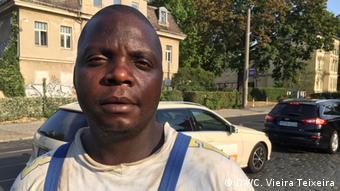 Deutschland Migration l Massumo Neluimba aus Angola lebt in Dresden