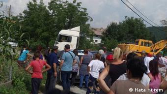 Bosnien-Herzegowina - Bewohner in Kruscica verteidigen Fluss