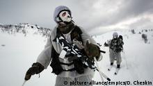 Norwegian Marines on ski patrol (picture-alliance/empics/D. Cheskin)