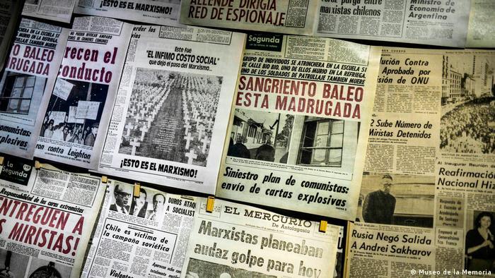 Exposición de periódicos