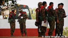 Myanmar, Verteitigungs-Militär