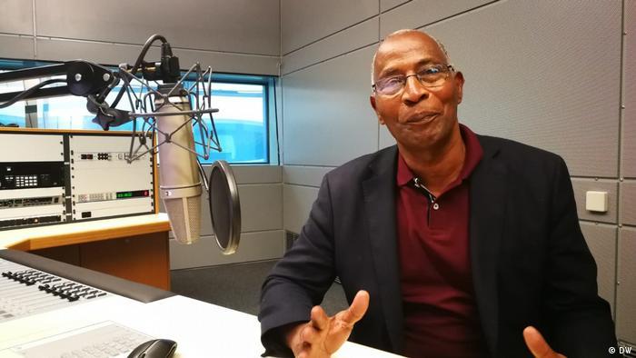 DW Interview mit dem Politiker Amadou Bah Oury aus Guinea