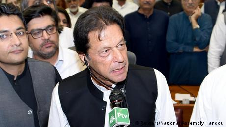 Pakistan Imran Khan ist neuer Premierminister (Reuters/National Assembly Handou)