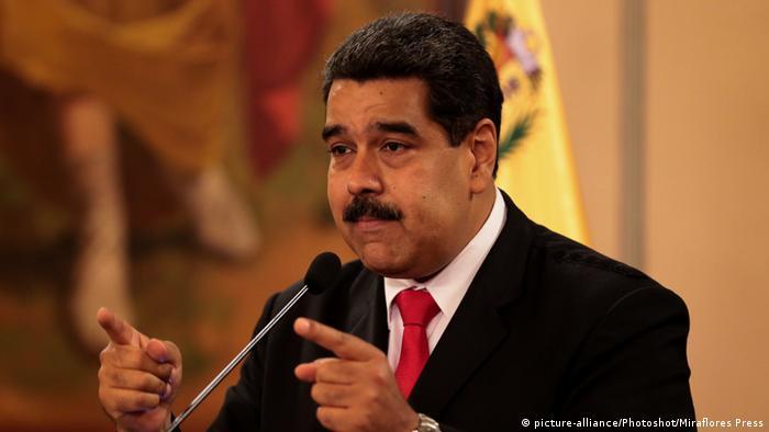 Venezuela Präsident Nicolas Maduro