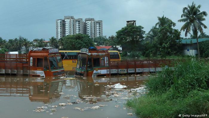 Indien Monsun - Überschwemmungen in Kochi (Getty Images/AFP)