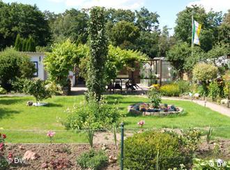 Schrebergarten in einem Kleingartenverein (Foto: DW)