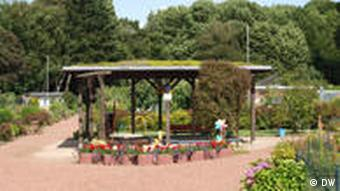 Spielplatz im Kleingartenverein (Foto: DW)