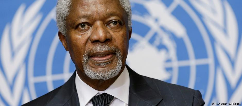 Kofi Annan, ex-secretário geral da ONU