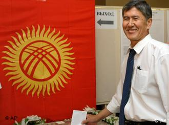 Almazbek Atambayev: the new prime minister of Kyrgyzstan
