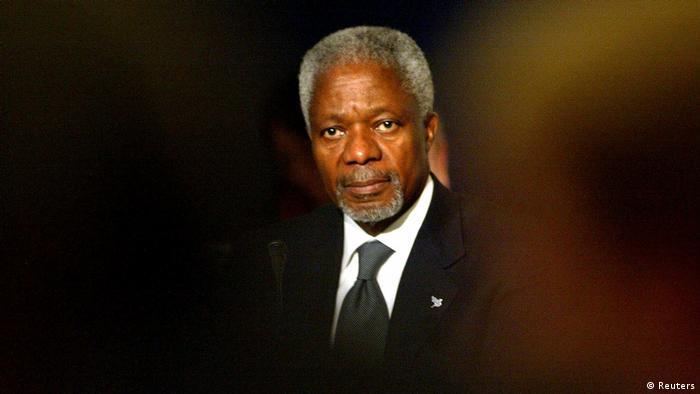 Irland - UN Generalsekretär Kofi Annan beim National Forum
