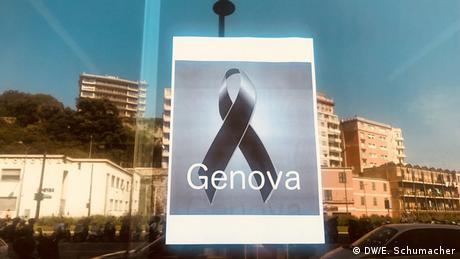 DW: Θρήνος και οργή για την τραγωδία στη Γένοβα