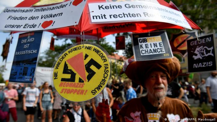 Deutschland Anti-Neo-Nazi-Demonstration in Berlin (Getty Images/AFP/J. Macdougall)