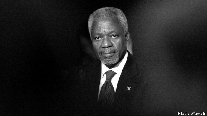 UN Generalsekretär Kofi Annan beim National Forum (Reuters/Maxwells)