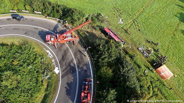 Внаслідок аварії в Польщі загинули троє осіб