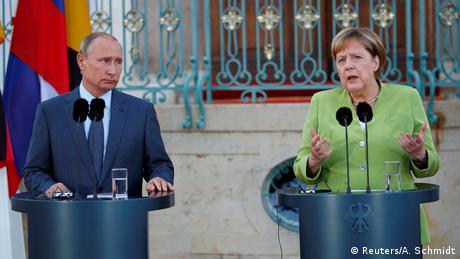 Зустріч Меркель та Путіна тривала понад три години