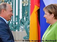 Merkel und Putin setzen auf engen Dialog