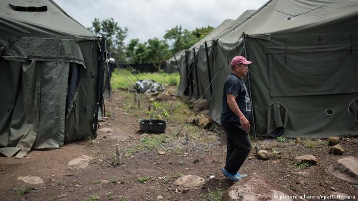 Centro para inmigrantes nicaragüenses en Costa Rica.