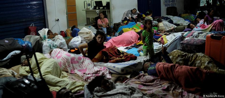 Συνθήκες Ειδομένης στα σύνορα Βενεζουέλας-Βραζιλίας