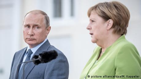 DW: Μέρκελ-Πούτιν: μία ιδιαίτερη σχέση