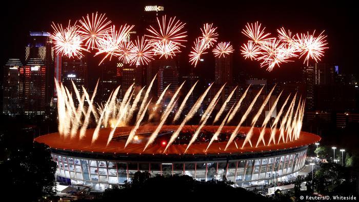 Indonesien - Erföffnung der Asienspiele 2018 in Jakarta (Reuters/D. Whiteside)