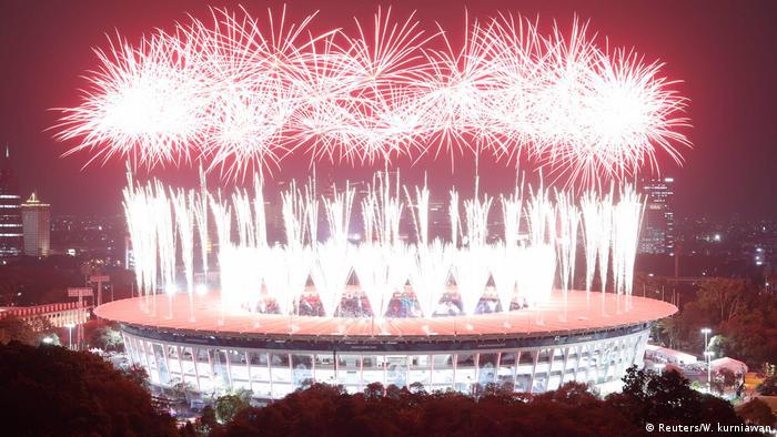 Indonesien - Erföffnung der Asienspiele 2018 in Jakarta (Reuters/W. kurniawan)