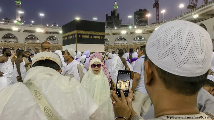 Saudi-Arabien - Beginn des Hadsch (picture-alliance/dpa/D. Yasin)