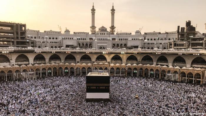 Müslümanlar 'smart hajj' uygulaması ile Kabe'yi tavaf ediyor